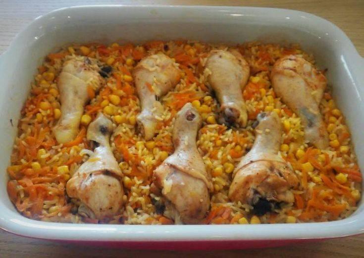 Как приготовить рис с мясом в духовке: 5 рецептов