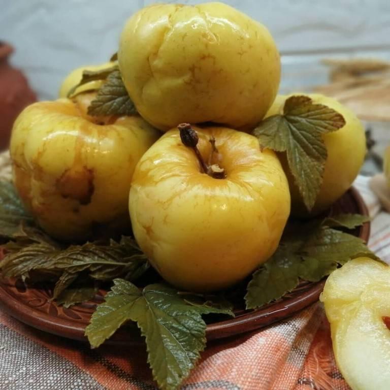 Мочёные яблоки на зиму в домашних условиях: лучшие рецепты приготовления (в банках, в бочке, с сахаром, хреном, медом и горчицей)