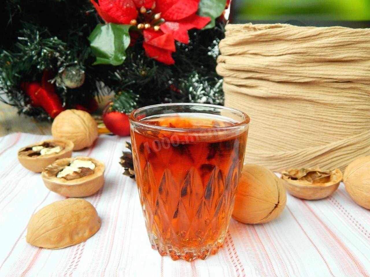 Как приготовить настойку на перегородках грецкого ореха на самогоне в домашних условиях