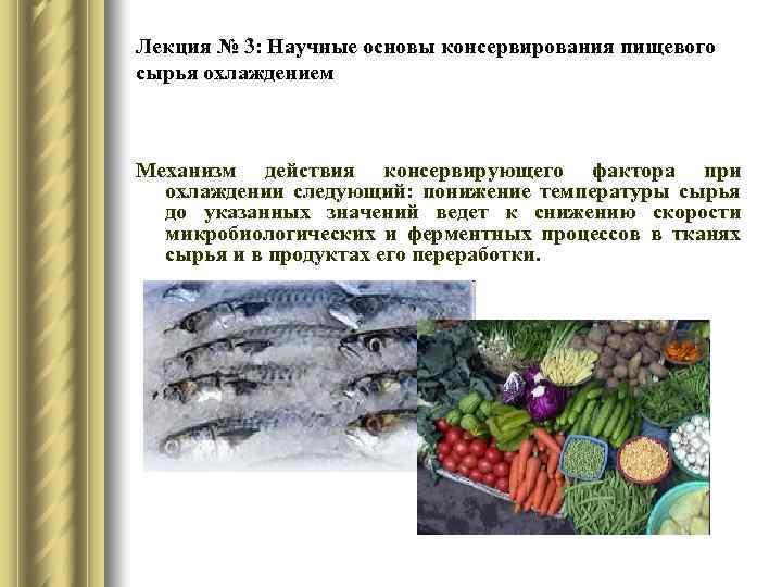 2 основы технологии консервирования плодов и овощей - студизба