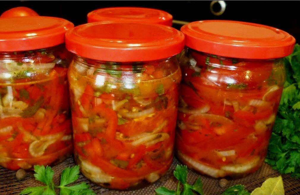 Кубанский салат на зиму — рецепт без стерилизации