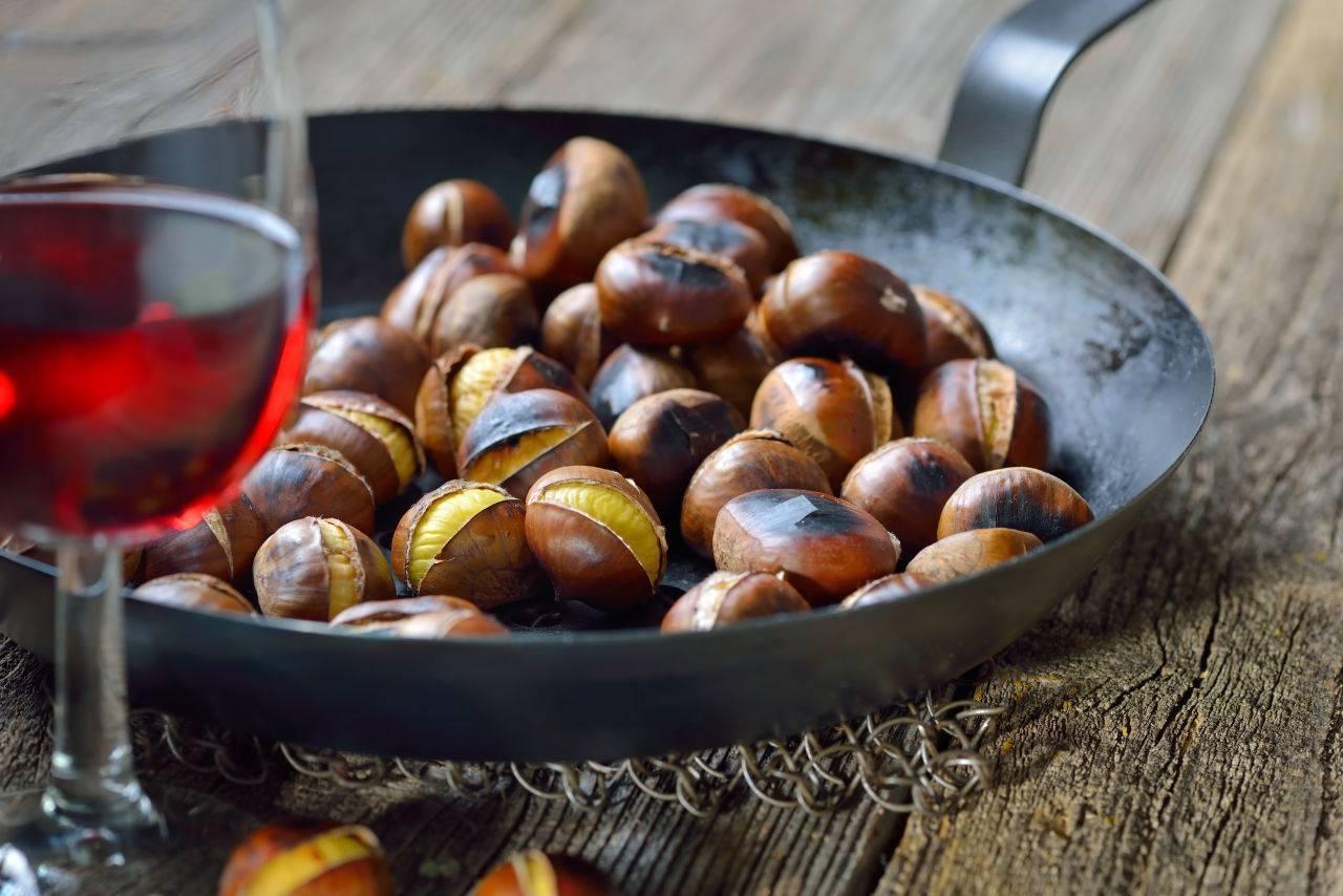 Как приготовить каштаны – запекаем в духовке | праздничные рецепты kulinarart.ru