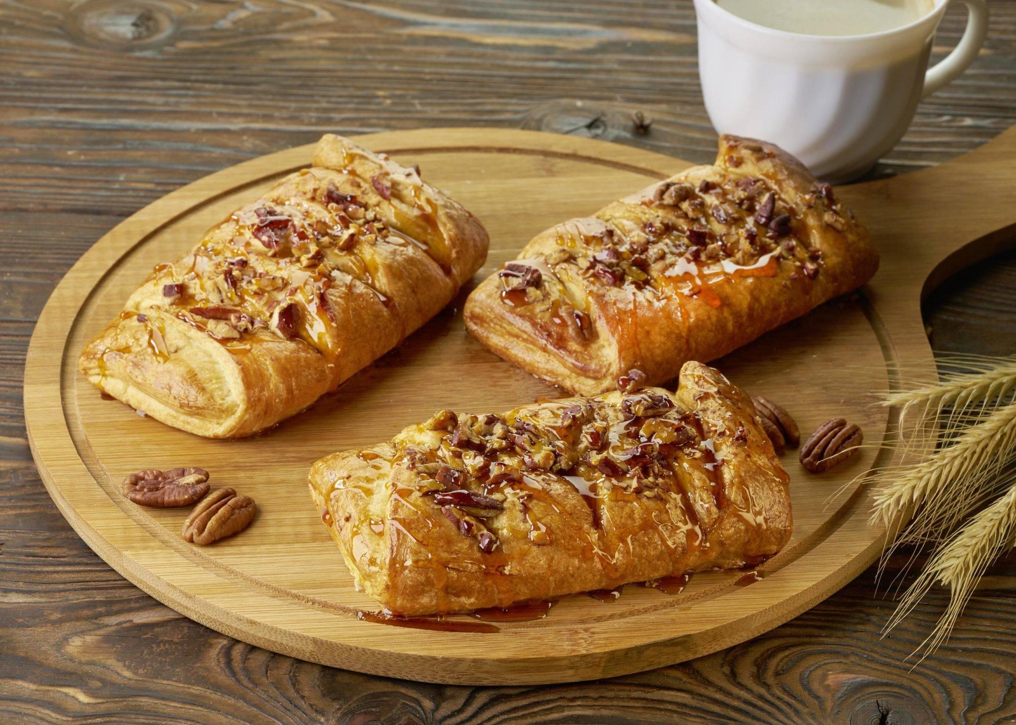 Булочка пекан с кленовым сиропом рецепт