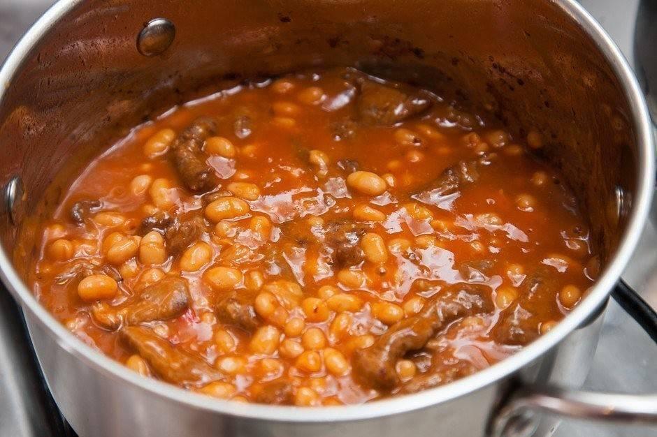 Фасоль в томатном соусе - 95 рецептов приготовления пошагово - 1000.menu