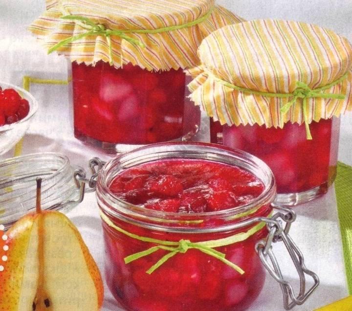 Джем из груш на зиму: простые рецепты приготовления грушевого угощения с яблоками, лимоном на плите и в мультиварке