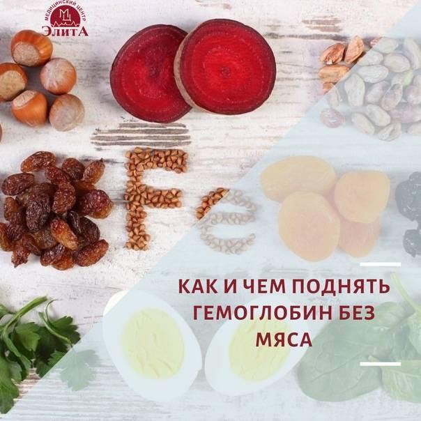 Какие орехи повышают гемоглобин в крови