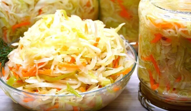 Маринованная капуста. 5 рецептов вкусной, хрустящей капусты быстрого приготовления