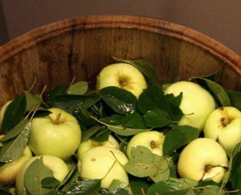 Как замочить яблоки на зиму в банках – рецепты