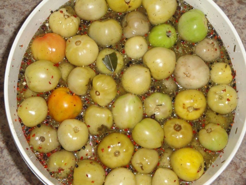 Соленые зеленые помидоры - 8 рецептов на зиму в банках с пошаговыми фото