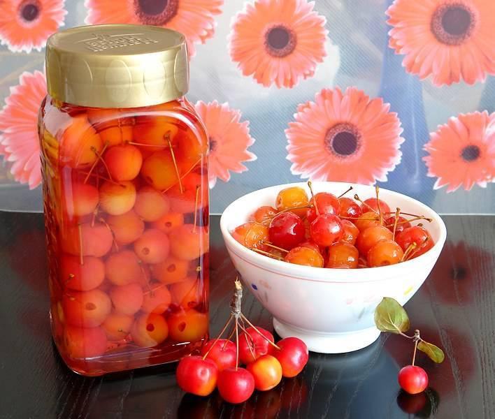 Варенье из райских яблок с хвостиками прозрачное, рецепт с фото