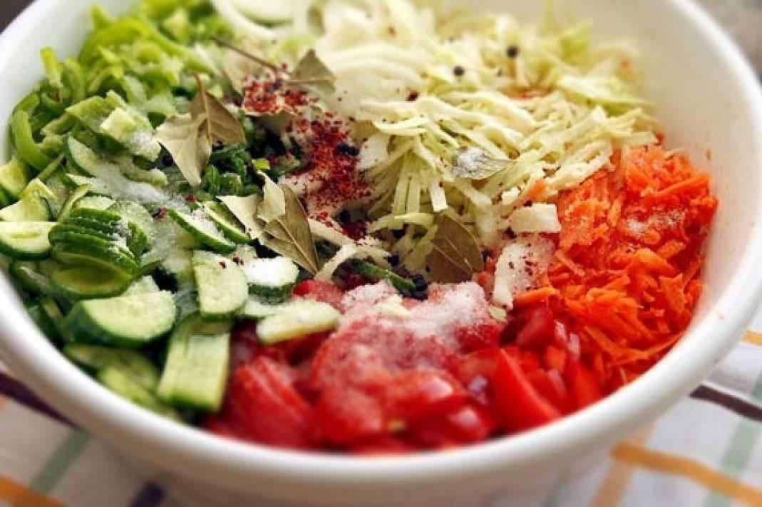 Салат «кубанский» на зиму - вкусные и оригинальные способы заготовки пикантной закуски