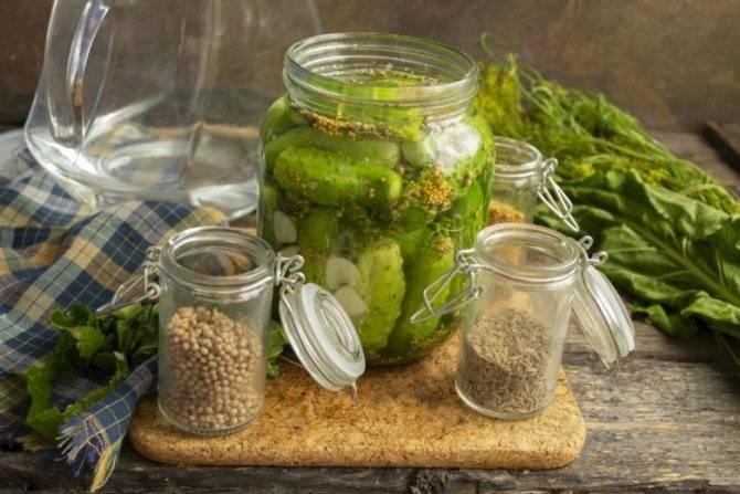 Соленые огурцы на зиму хрустящие -пошаговый рецепт с фото