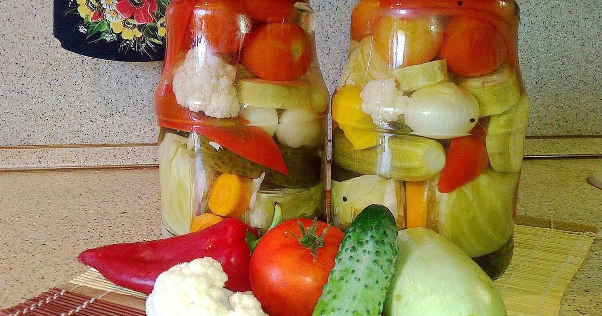 Ассорти из овощей на зиму — самый вкусный рецепт