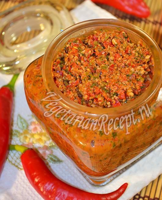 Аджика по-абхазски: традиционный рецепт