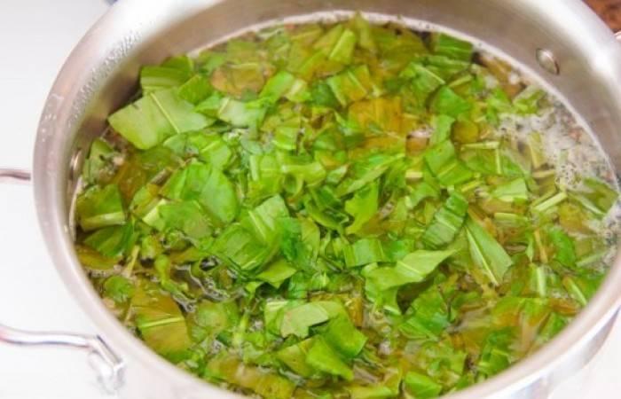 Как приготовить вкусный зеленый борщ