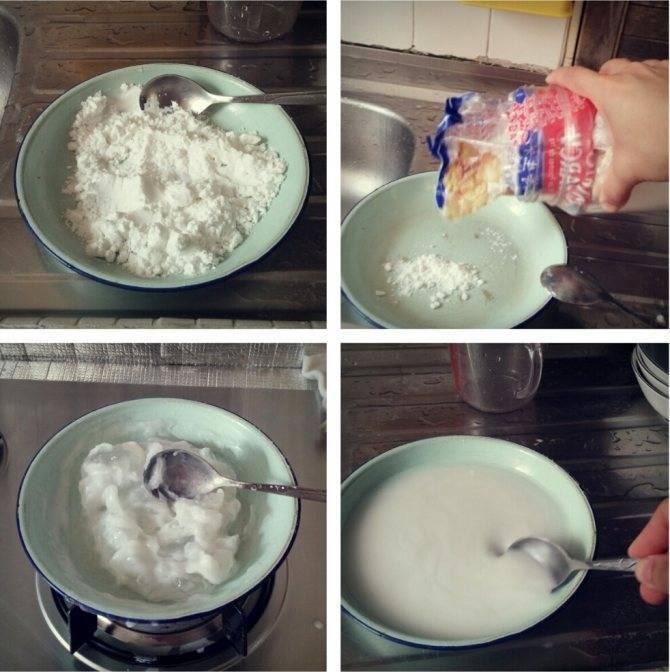 Как в домашних условиях сделать крахмал из картофеля и кукурузы