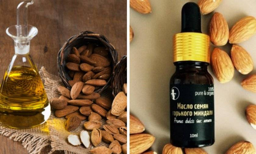 Миндальное масло эфирное и косметическое - свойства и применение для кожи лица, волос и ресниц