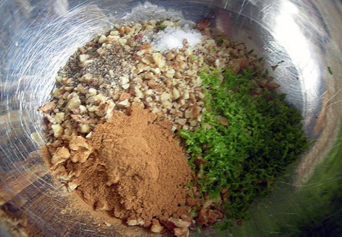Орех мускатный - рецепты