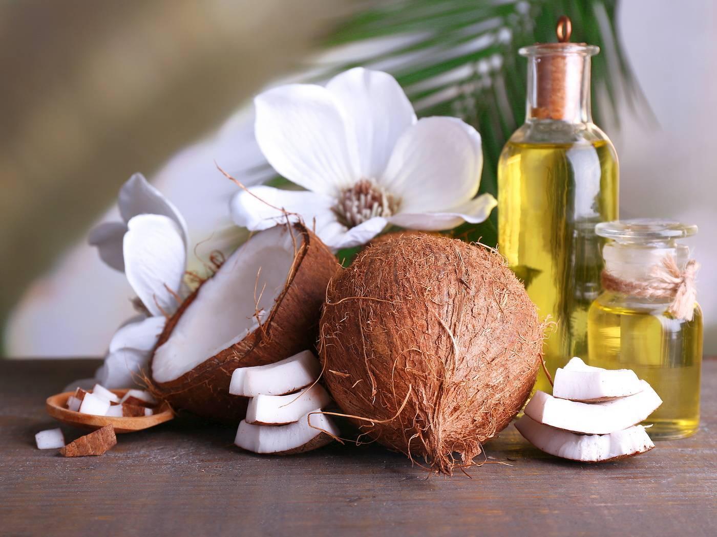 Приготовление кокосового масла. Как и из чего делают на производстве и дома?