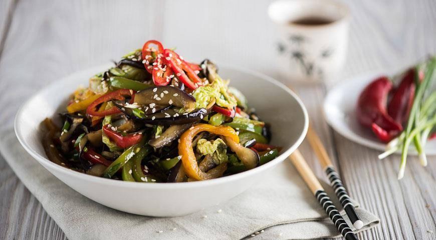 Баклажаны по-корейски - самые вкусные рецепты быстрого приготовления