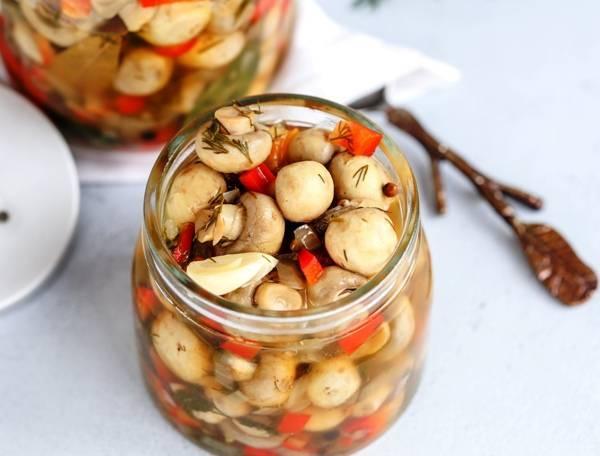 Грибы маринованные на зиму - 5 вкусных рецептов приготовления