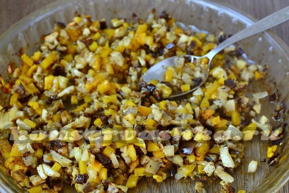 Икра из баклажанов и перцев рецепт на зиму