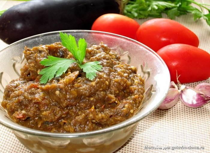 Икра с баклажан: простые, вкусные и лучшие рецепты приготовления