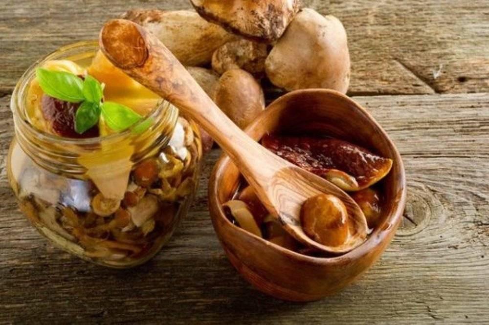 Маринованные белые грибы: секреты и тонкости