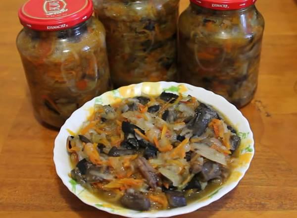Солянка из капусты с грибами - рецепты в духовке, в мультиварке или на зиму