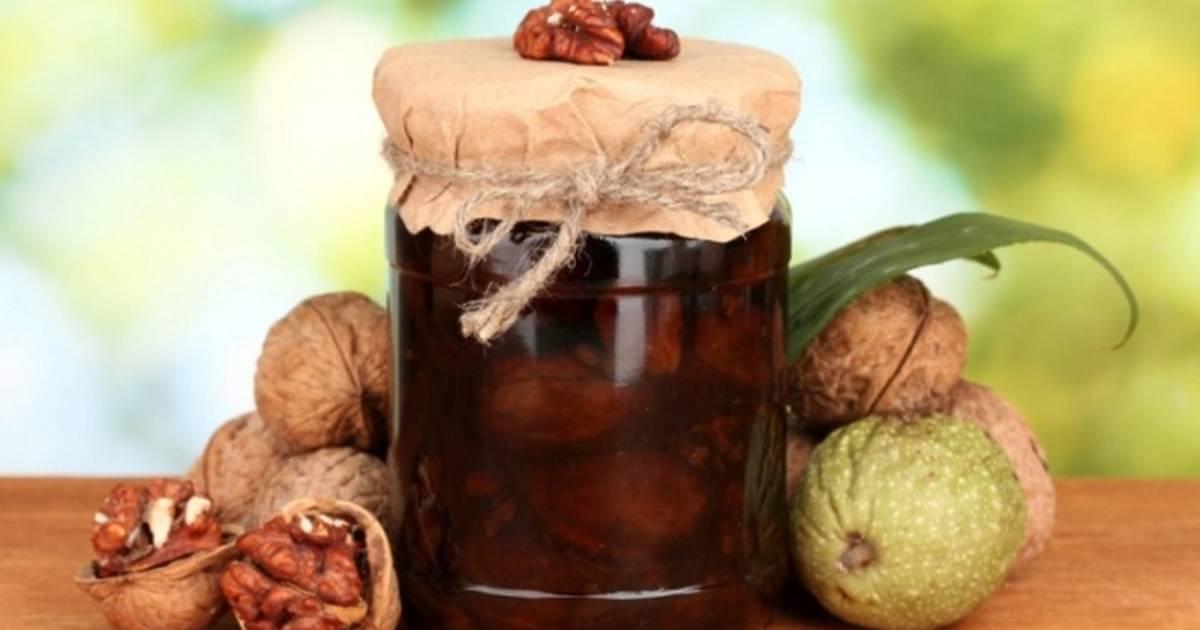 Варенье из грецких орехов: польза и вред: свойства, рецепты с фото