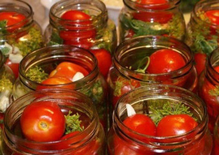 Соленые помидоры «остренькие»