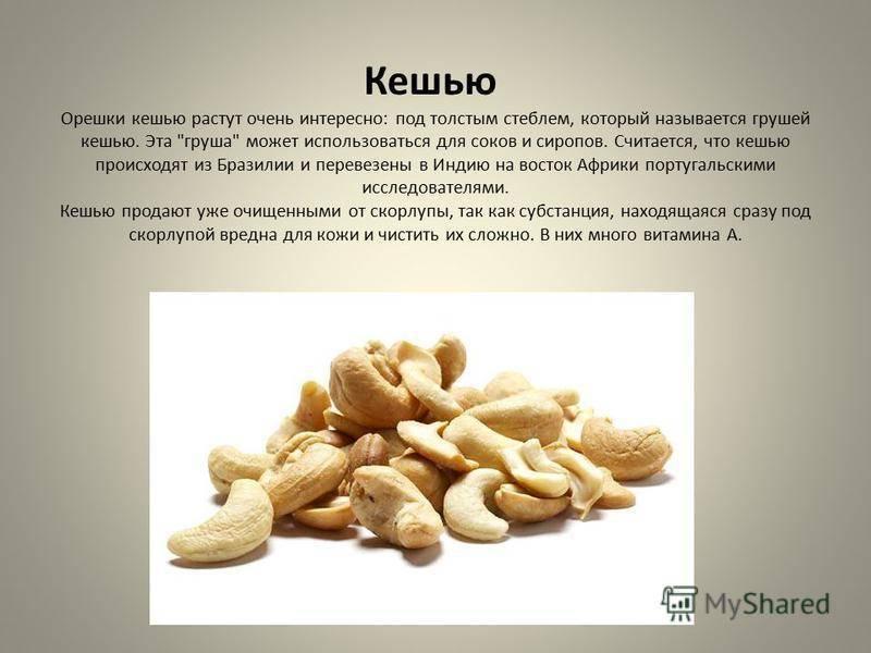 Кешью или миндаль: что полезнее и чем орехи отличаются, а также какие противопоказания к употреблению имеют?
