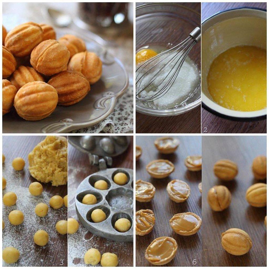 Орешки в орешнице: 9 домашних вкусных рецептов