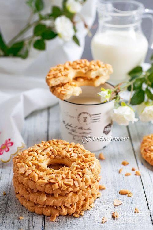 Песочные кольца с орехами по госту рецепт с фото пошагово и видео - 1000.menu