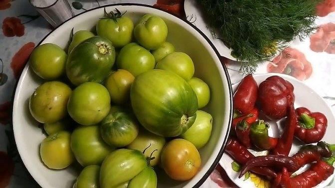 Помидоры по кубански томате