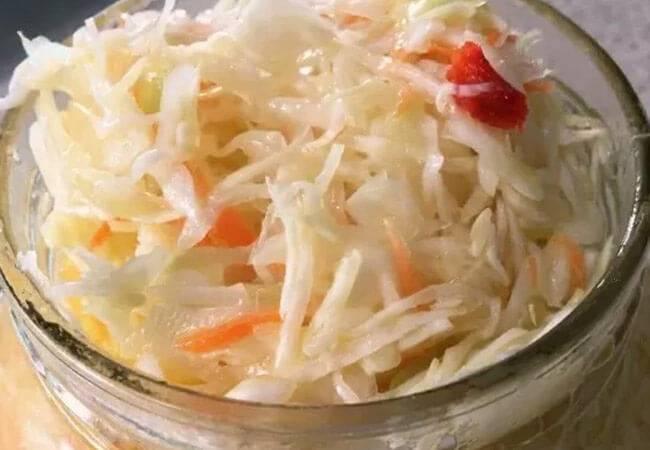 Маринованная капуста быстрого приготовления - 7 простых рецептов