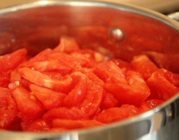 Вкусная томатная паста на зиму через мясорубку