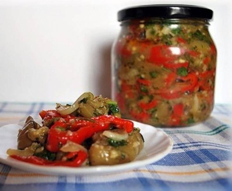 Баклажаны с фасолью на зиму: 5 очень вкусных рецептов салата