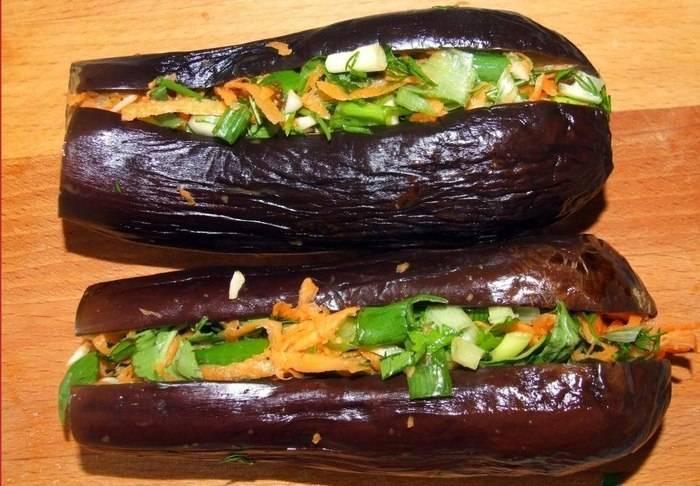 Баклажаны квашеные: с морковкой, фаршированные, с зеленью и чесноком