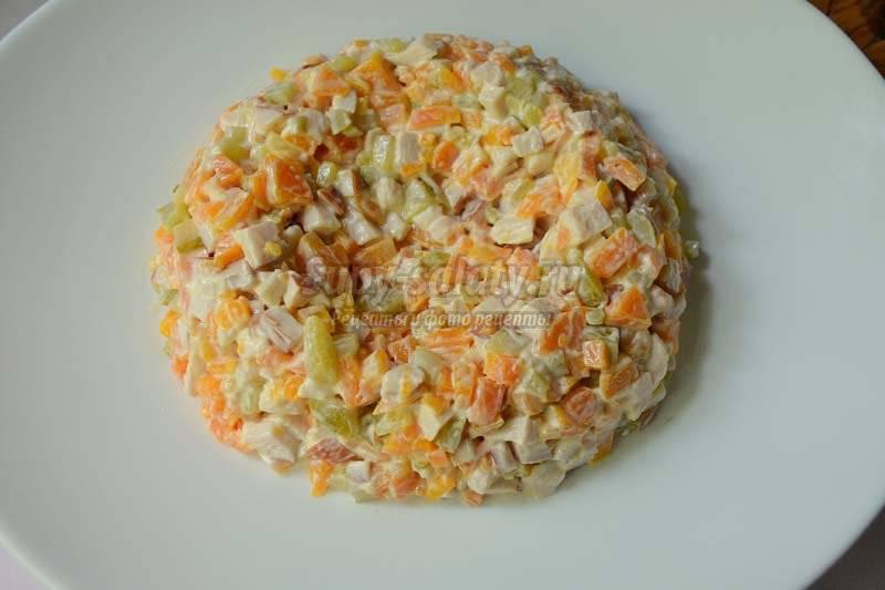 Салаты с арахисом рецепты с фото простые и вкусные
