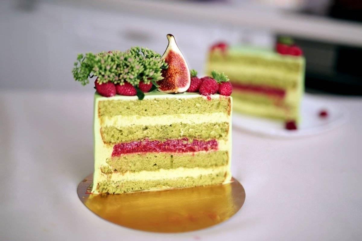 Торт «фисташка-малина»: ингредиенты, рецепт с фото, особенности приготовления . милая я