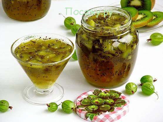 Варенье из киви на зиму: простой рецепт заготовки без варки