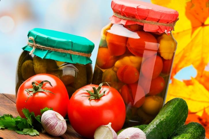Основные способы консервирования продуктов