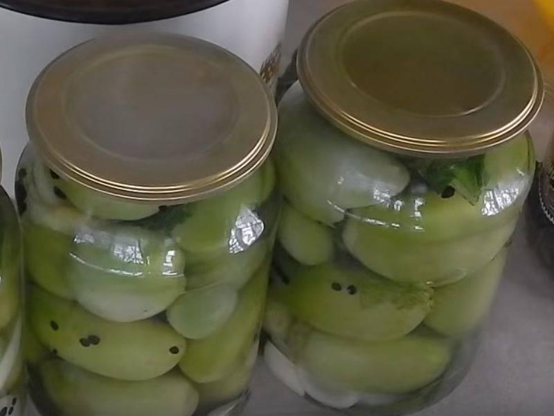 Зеленые помидоры на зиму - самые вкусные и простые рецепты