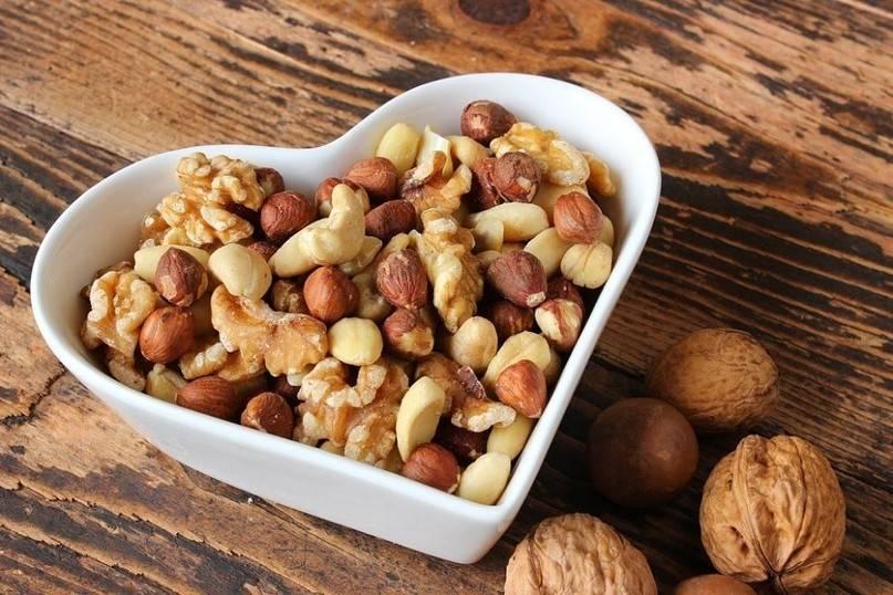 Замачивание орехов перед употреблением