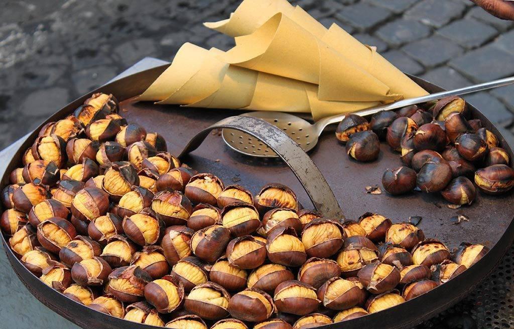 Каштан - рецепты