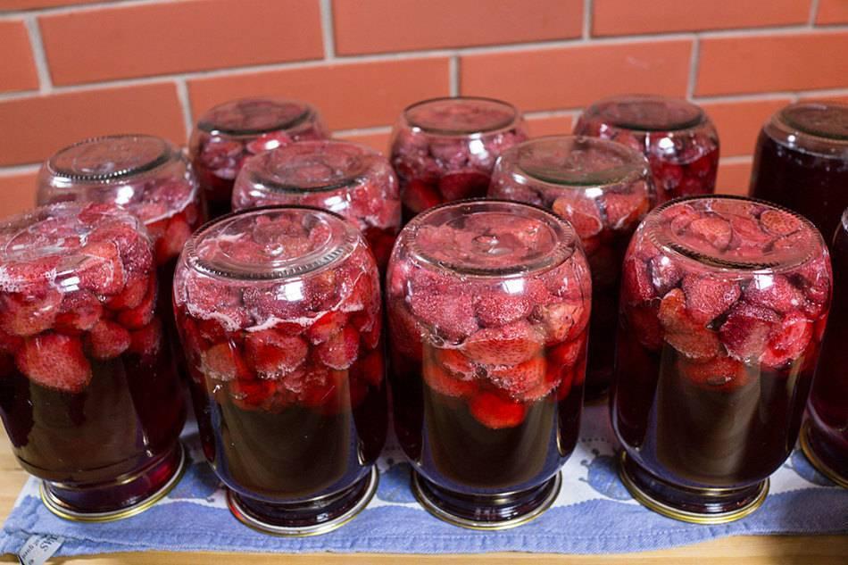 Ягодная прослойка для торта из замороженных ягод