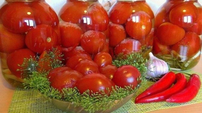 Рецепт зеленых помидоров с хреном
