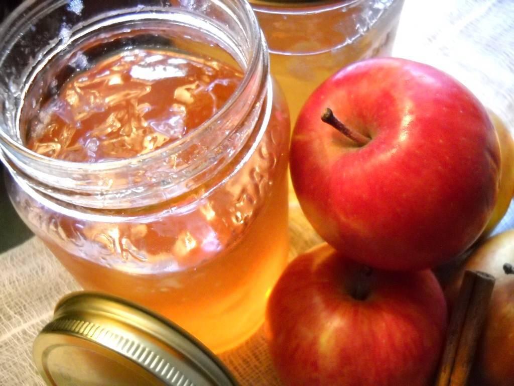 Варенье-пятиминутка из яблок на зиму: простые рецепты с фото пошагово