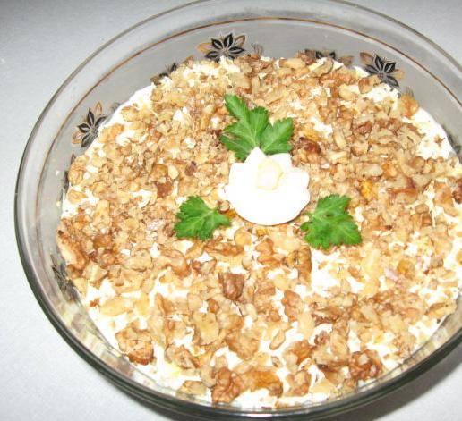 Салат с куриной грудкой - 145 домашних вкусных рецептов приготовления
